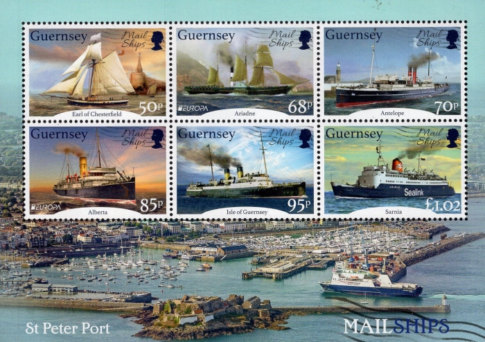 [EUROPA Stamps - Ancient Postal Routes - Mail Ships, Typ ]