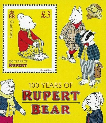 [The 100th Anniversary of Rupert Bear, Typ ]