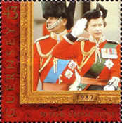 [The Golden Wedding Anniversary of Queen Elizabeth and Prince Philip, Typ ABI]
