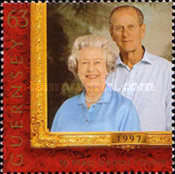 [The Golden Wedding Anniversary of Queen Elizabeth and Prince Philip, Typ ABJ]