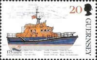 [The 175th Anniversary of the Royal Lifeboat Institution, type ADB]