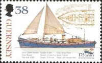 [The 175th Anniversary of the Royal Lifeboat Institution, type ADE]