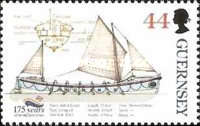 [The 175th Anniversary of the Royal Lifeboat Institution, type ADF]