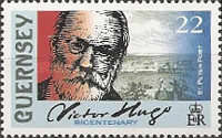 [The 200th Anniversary of the Birth of Victor Hugo, 1802-1885, Typ AHO]