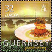 [EUROPA Stamps - Gastronomy, Typ AMK]