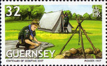 [EUROPA Stamps - The 100th Anniversary of Scouting, Typ APS]