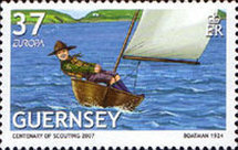 [EUROPA Stamps - The 100th Anniversary of Scouting, Typ APT]