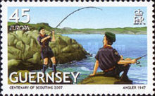 [EUROPA Stamps - The 100th Anniversary of Scouting, Typ APU]