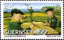 [EUROPA Stamps - The 100th Anniversary of Scouting, Typ APV]