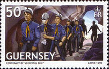 [EUROPA Stamps - The 100th Anniversary of Scouting, Typ APW]