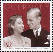 [60th Anniversary of Queen Elizabeth II and Prince Philip, Typ AQH]