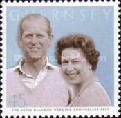 [60th Anniversary of Queen Elizabeth II and Prince Philip, Typ AQJ]