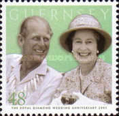[60th Anniversary of Queen Elizabeth II and Prince Philip, Typ AQK]