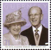 [60th Anniversary of Queen Elizabeth II and Prince Philip, Typ AQM]