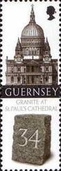 [Granite from Guernsey used for St. Paul`s Cathedral, Typ ASX]