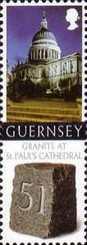 [Granite from Guernsey used for St. Paul`s Cathedral, Typ ATA]