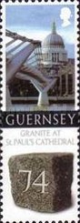[Granite from Guernsey used for St. Paul`s Cathedral, Typ ATC]