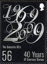 [The 40th Anniversary of the First Guernsey Postage Stamps, Typ AUQ]