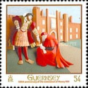 [The 500th Anniversary of the Coronation of King Henry VIII, Typ AUV]