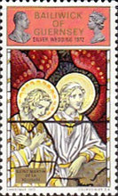 [Christmas Stamps - Queen Elizabeth II and Prince Philips Silver Wedding, Typ AW]
