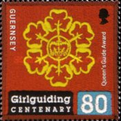 [The 100th Anniversary of Girlguiding, type AWF]