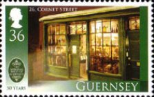 [The 50th Anniversary of the Guernsey National Trust, type AWH]