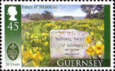 [The 50th Anniversary of the Guernsey National Trust, type AWI]