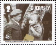 [The 70th Anniversary of the Guernsey Evacuees, type AWO]