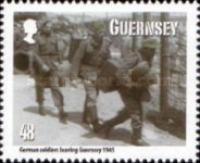 [The 70th Anniversary of the Guernsey Evacuees, type AWP]