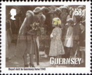 [The 70th Anniversary of the Guernsey Evacuees, type AWR]