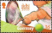[The 40th Anniversary of Guernseys Participation in the Commonwealth Games, Typ AWT]
