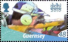 [The 40th Anniversary of Guernseys Participation in the Commonwealth Games, Typ AWV]