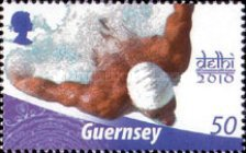 [The 40th Anniversary of Guernseys Participation in the Commonwealth Games, Typ AWW]