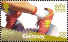 [The 40th Anniversary of Guernseys Participation in the Commonwealth Games, Typ AWX]