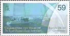 [The 150th Anniversary of the Royal Channel Yacht Club, Typ AZN]