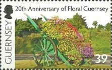 [The 20th Anniversary of Floral Guernsey, Typ AZQ]