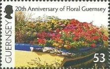 [The 20th Anniversary of Floral Guernsey, Typ AZS]