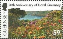 [The 20th Anniversary of Floral Guernsey, Typ AZT]