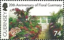 [The 20th Anniversary of Floral Guernsey, Typ AZV]