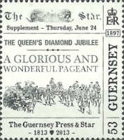 [The 200th Anniversary of The Guernsey Press And Star, Typ BBA]