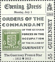 [The 200th Anniversary of The Guernsey Press And Star, Typ BBB]