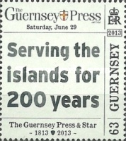 [The 200th Anniversary of The Guernsey Press And Star, Typ BBC]