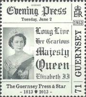 [The 200th Anniversary of The Guernsey Press And Star, Typ BBD]