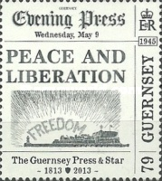 [The 200th Anniversary of The Guernsey Press And Star, Typ BBE]