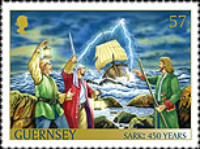 [The 450th Anniversary of the Channel Island of Sark as a Fief to the Crown, type BFA]
