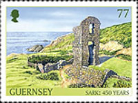[The 450th Anniversary of the Channel Island of Sark as a Fief to the Crown, type BFD]