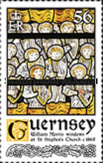 [Christmas - William Morris Stained Glass Windows, Typ BFI]