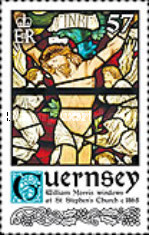 [Christmas - William Morris Stained Glass Windows, Typ BFJ]