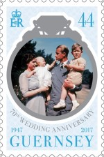 [The 70th Anniversary of the Wedding of Queen Elizabeth II and Prince Philip, Typ BJU]