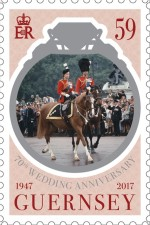 [The 70th Anniversary of the Wedding of Queen Elizabeth II and Prince Philip, Typ BJV]